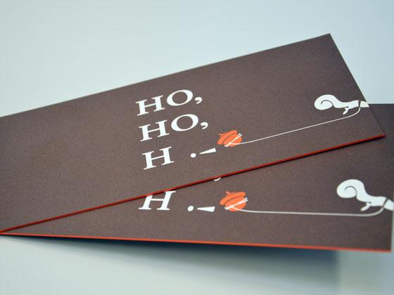 Veredelte Weihnachtskarten