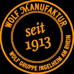 Stempel Wolf-Manufaktur seit 1913