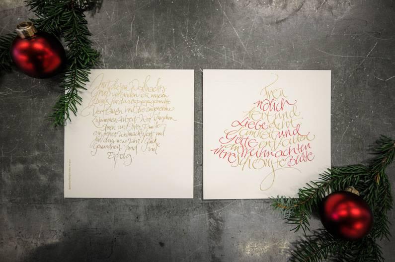 Wolf Manufaktur Weihnachtskarte