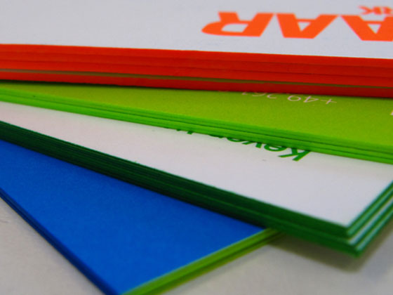 Farbschnitt, Farbschnitt und nochmals Farbschnitt