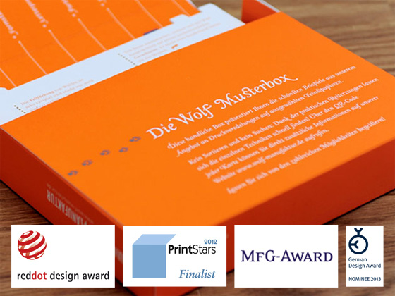 Musterbox räumt Auszeichnungen ab