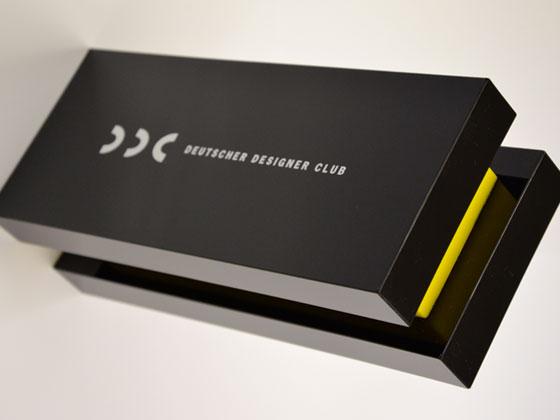 Deutscher Designer Club (DDC) ehrt die Musterbox der Wolf-Manufaktur mit einem Award