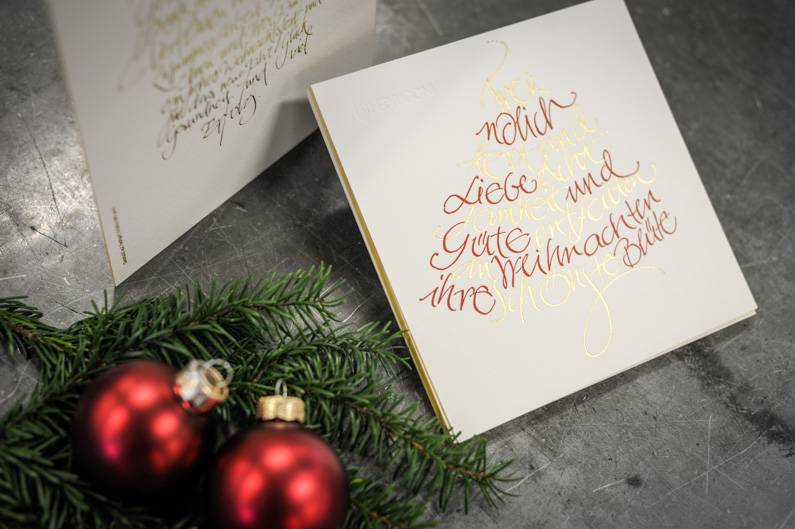 Haben Sie schon an Ihre Weihnachtskarte gedacht?