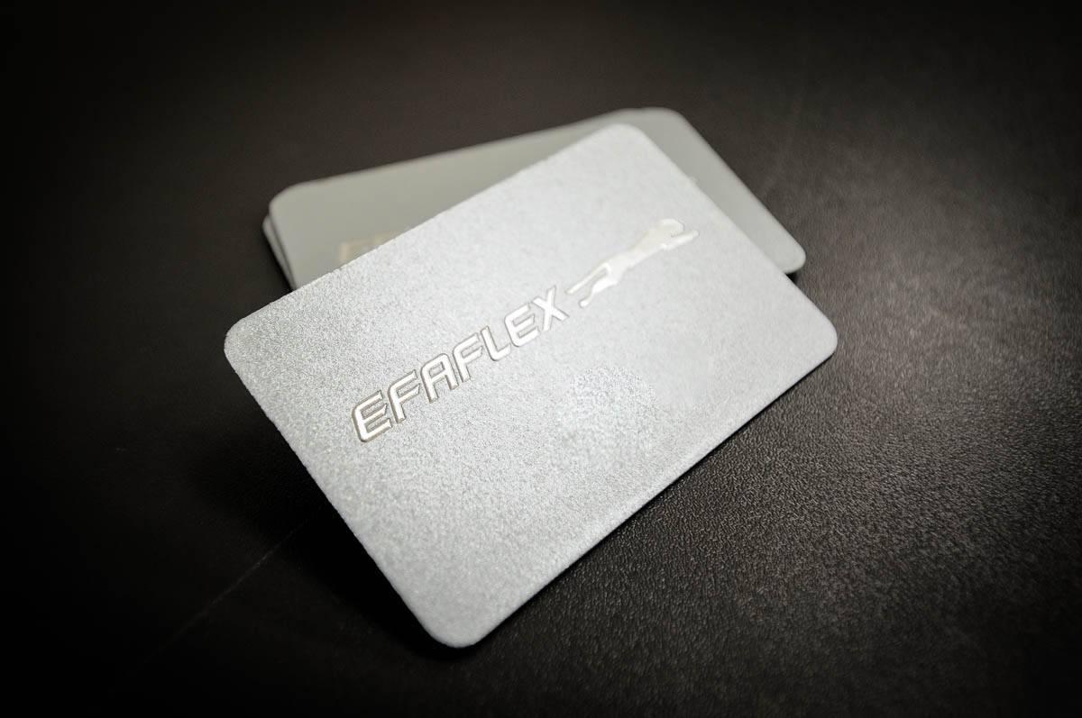 Efaflex Visitenkarte Wolf-Manufaktur