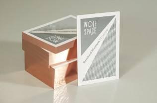 Letterpressvisitenkarten mit Folienschnitt