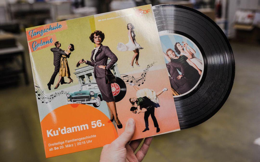 """Die etwas andere Presseinfo: Schallplatten für neuen ZDF-Dreiteiler """"Ku'damm 56."""""""