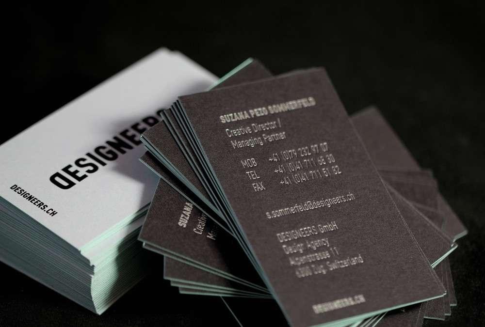 Visitenkarten für Designeers