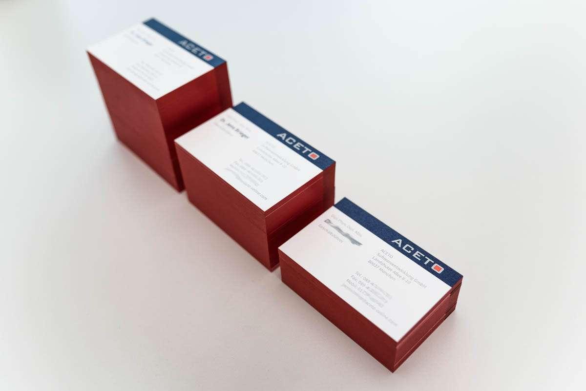 Veredelte Visitenkarten Im Digitaldruck Wolf Manufaktur