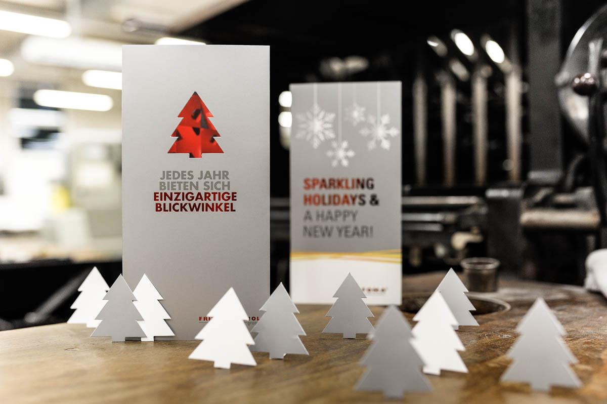 Digitale Weihnachtskarten.Veredelte Weihnachtskarten Bei Wolf Manufaktur