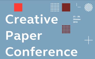 Jetzt Tickets für die Creative Paper Conference gewinnen!