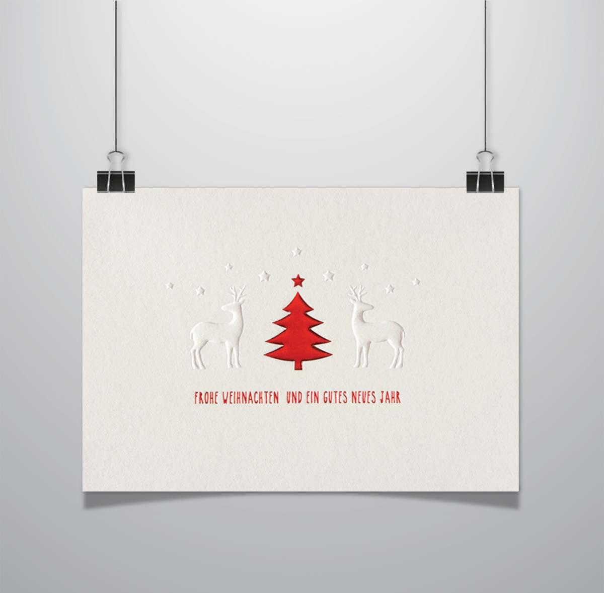 Weihnachtskarten Kategorie A - Wolf-Manufaktur