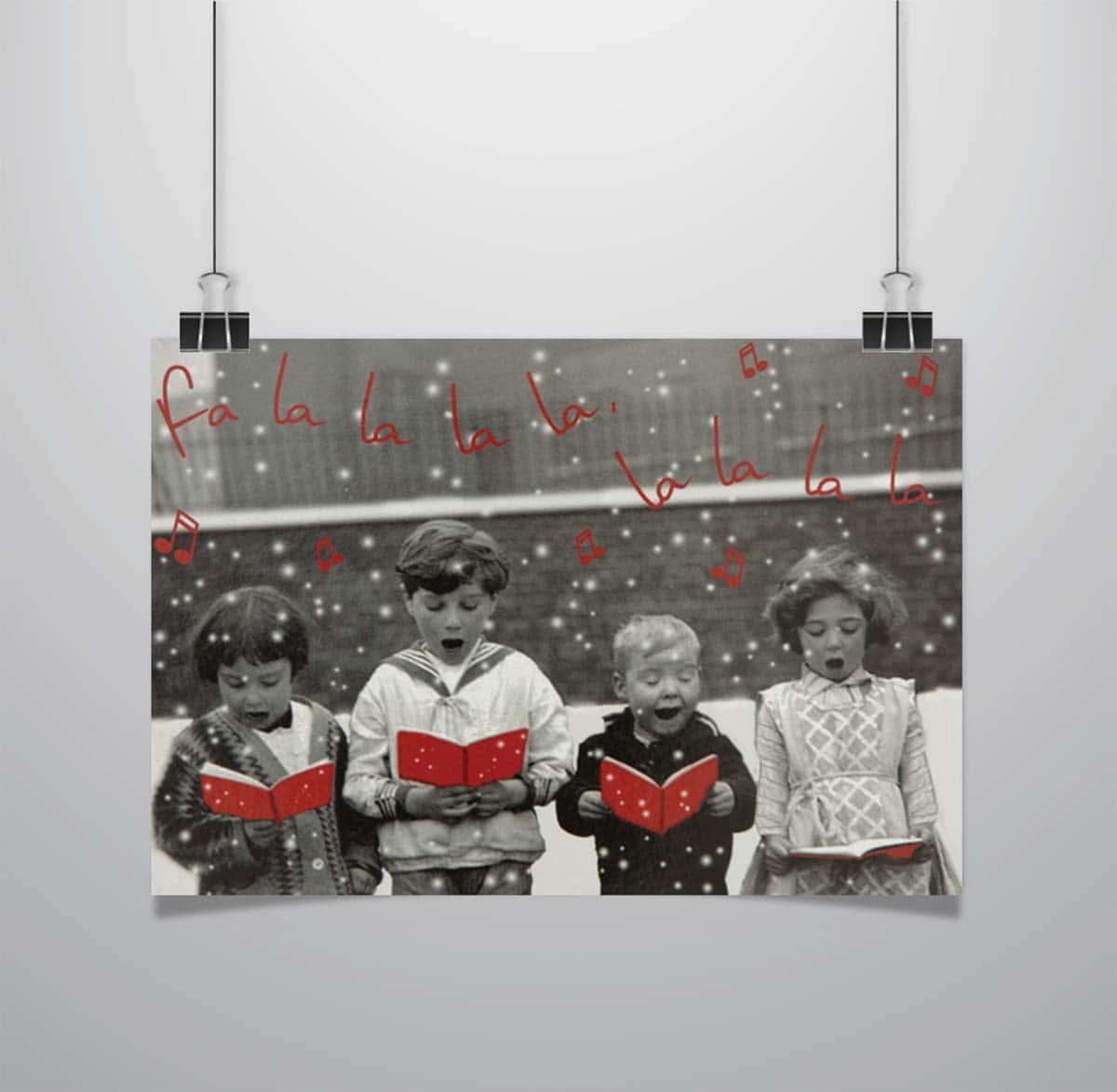 Weihnachtskarten Save the Children - Wolf-Manufaktur