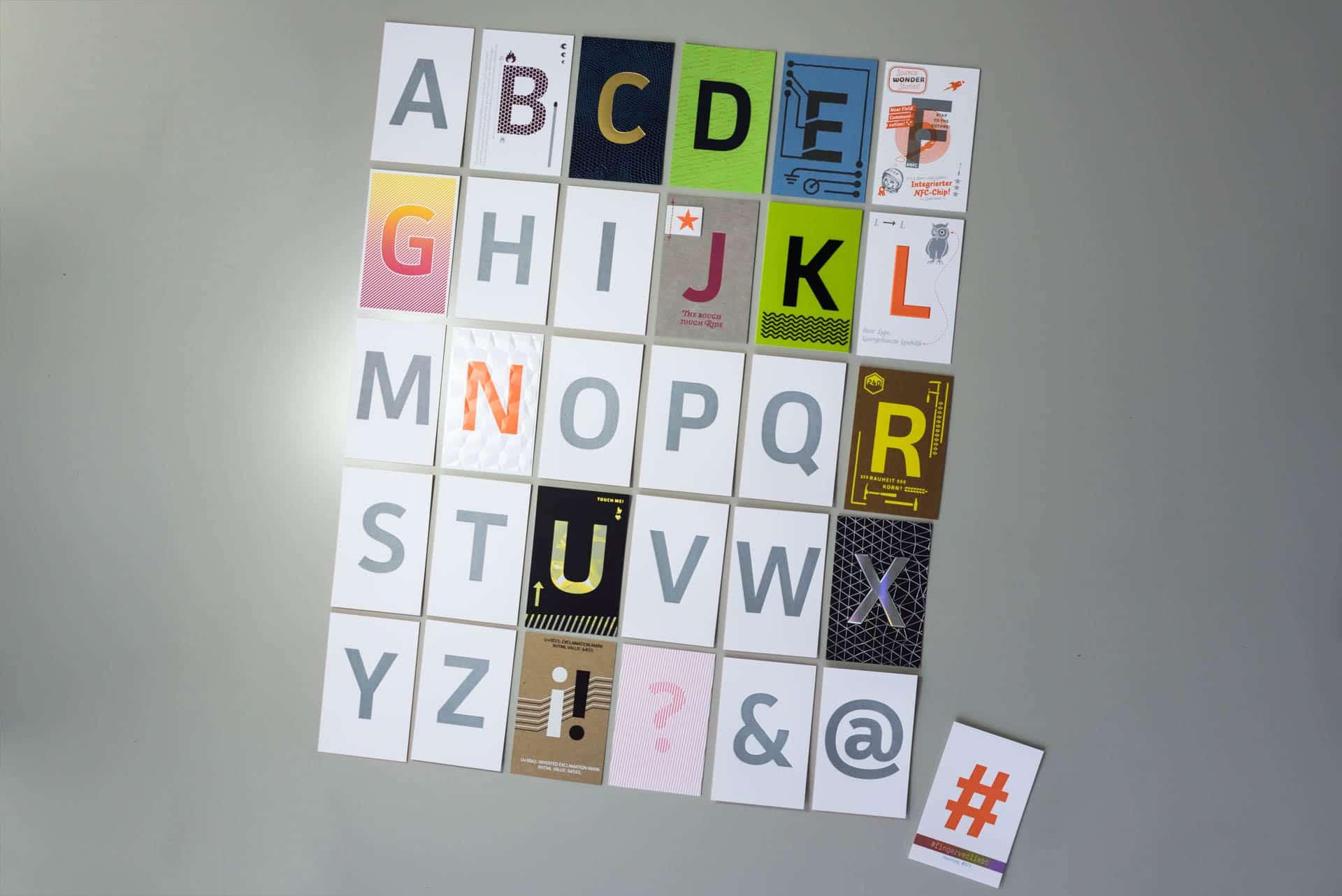 Musterkollektion beyond letterpress wolf manufaktur - Wolf manufaktur ...