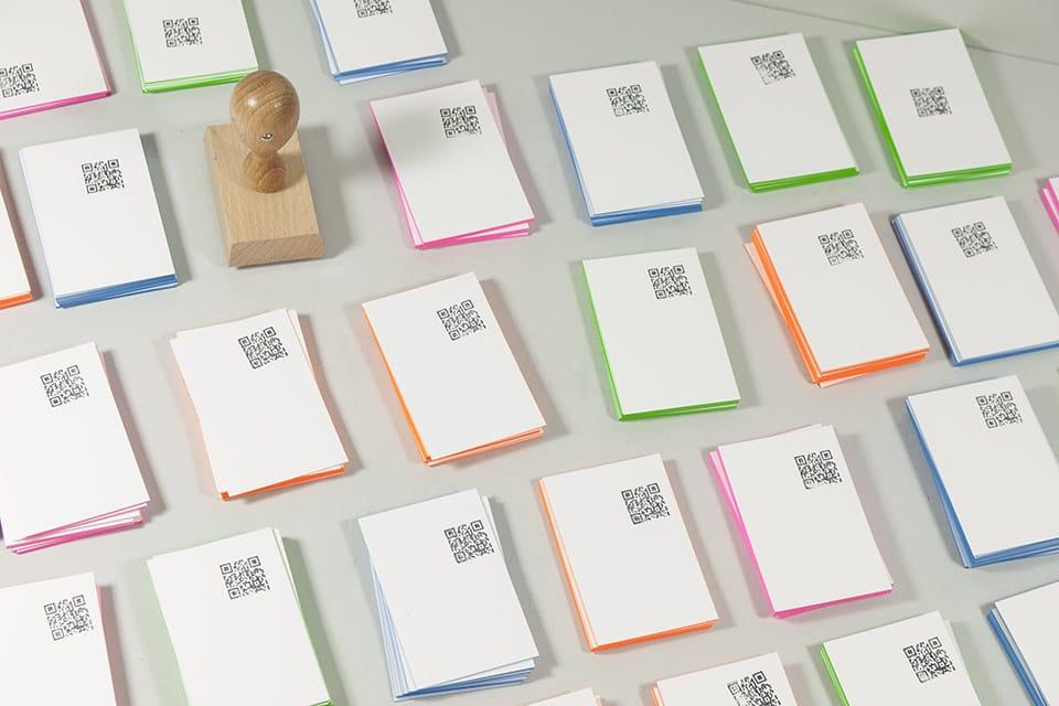 Blanko Visitenkarten Werden Sie Kreativ Wolf Manufaktur
