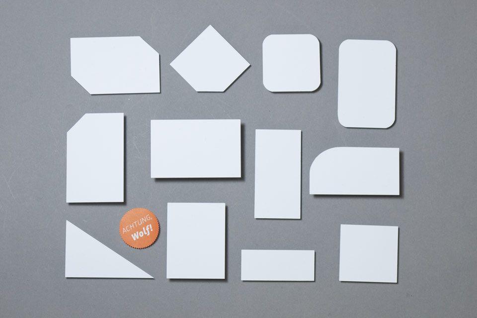 Visitenkarten Abseits Vom Standardformat Bei Wolf Manufaktur