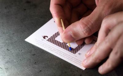 Zündende Idee – Streichholz-Reibefläche