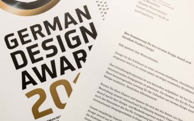 "German Design Award 2018 Nominierung für ""Beyond Letterpress"""