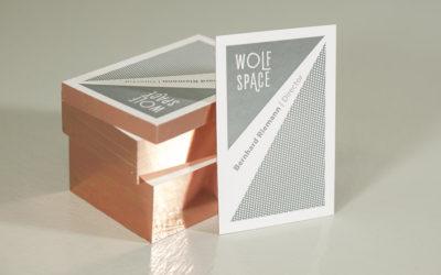 Visitenkarten aus dem Wolf-Manufaktur Onlineshop