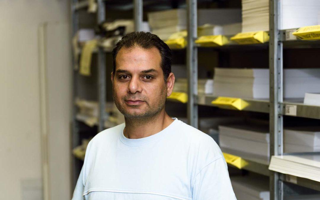 Neu bei uns: Mohammad Bassam Altaian