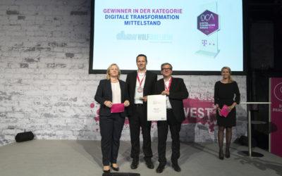 Wolf-Ingelheim gewinnt Digitalisierungs Award der Telekom