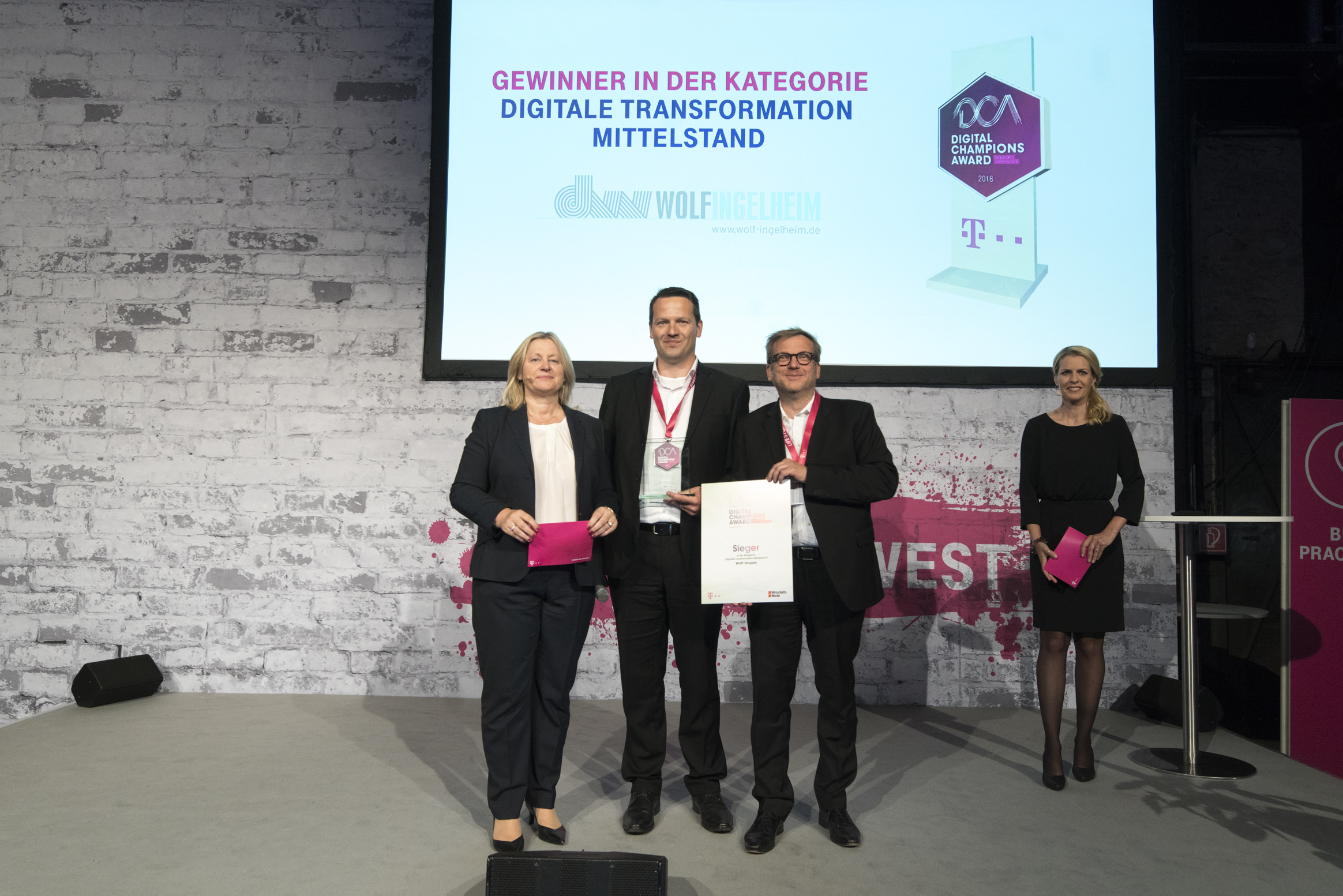 Deutsche Telekom Award 2018 Digitale Transformation Mittelstand Wolf-Ingelheim