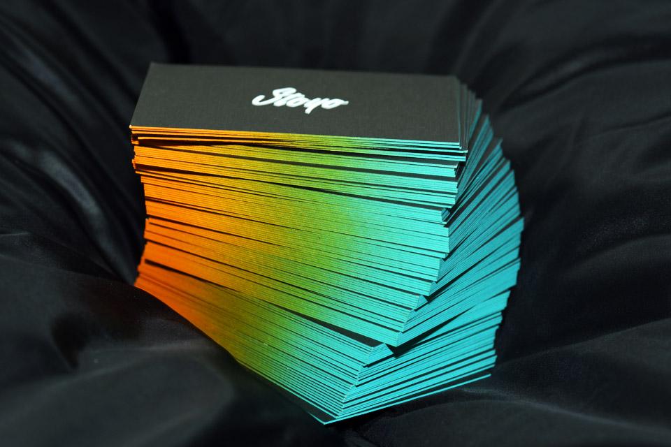 Farbverlauf & Farbschnitt: Streetart auf Papier