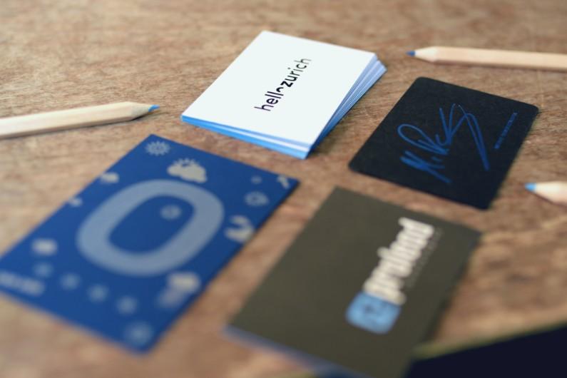 Wir machen blau – auf dem Papier