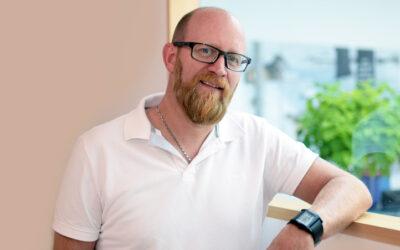 Neu im Wolfsrudel: Kundenberater Erwin Weiß