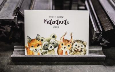 Putzige Papeterie aus der Wolf-Manufaktur