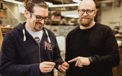 Gesichter der Manufaktur – Marc und Erwin