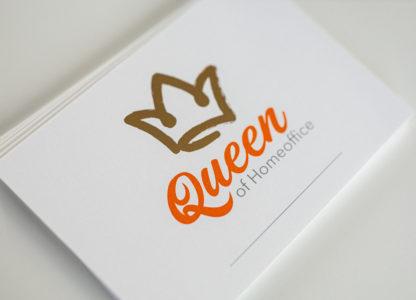 postkarte-queen-heißfolie